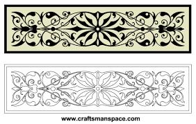 free horizontal decorative ornaments vector 123freevectors