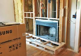 Gas Wood Burning Fireplace Insert by Home Projects Wood Burning Fireplace To Gas Insert Conversion