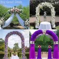 wedding arches ebay white metal garden arch archway wedding ceremony flower