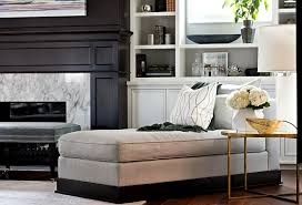 livingroom chaise 10 time tested ways to make a living room look bigger home bunch