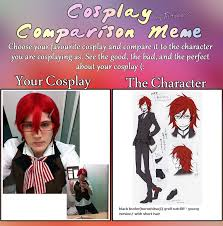 Short Hair Meme - cosplay meme blackbutler grell short hair ver by yumiko11 on