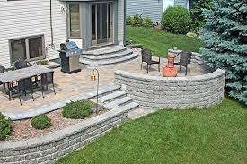 Concrete Decks And Patios Woodbury Residence Landscaping Pinterest Patio Layout