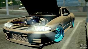 custom nissan skyline r32 nissan skyline r32 hellaflush for gta san andreas
