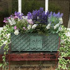 metal trough planter ebay