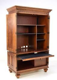 Armoire Furniture Plans How To Build A Desk Armoire U2014 Steveb Interior