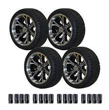 amazon com ezgo 750394pkg backlash tires with 14 inch machined