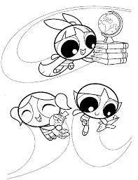ppg coloring pages coloring