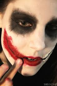 Batman Halloween Makeup by Best 25 Joker Makeup Tutorial Ideas Only On Pinterest Witch