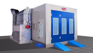 chambre de peinture automobile cabine de peinture fermée pour véhicules à filtre pressurisée
