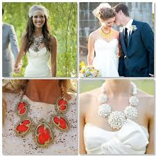 statement necklace with dress images Statement necklace glitter inc jpg