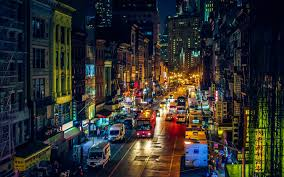 New York City Wallpapers For Your Desktop by Download New York Street At Night Wallpaper For Desktop Mobile