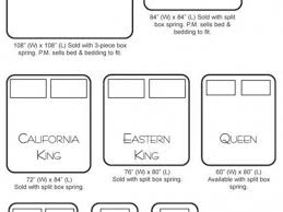 elegant measurements for california king mattress king size best