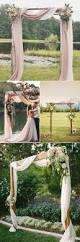 Backyard Rustic Wedding by Best 25 Rustic Wedding Arches Ideas On Pinterest Outdoor