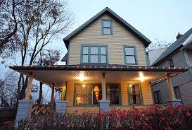 a christmas story leg l lights a christmas story house ralphie s actual house from a christmas