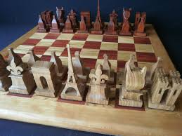 Cool Chess Set Egyptian Hand Decorated Themed Chess Set Including Chess Board