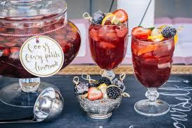 big batch cocktail boozy berry patch lemonade hgtv
