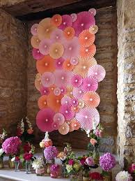 wedding backdrop uk pom pom studio paper rosettes wedding backdrop wall