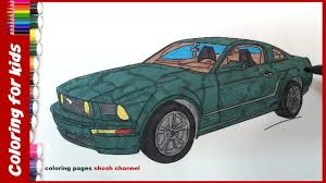colouring pages for children how to color car drawing coloring