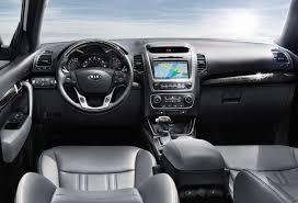 Santa Fe 2013 Interior 2014 Kia Sorento U0026 Hyundai Santa Fe Vehicle Comparison Nj