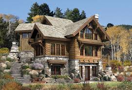 wood cabin plans targhee log cabin home rustic luxury cabins plans bestofhouse