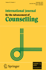 Counseling Psychology Research Articles International Journal For The Advancement Of Counselling Incl