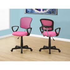 Pink Office Chair South Shore Annexe Clear Pink Blush Acrylic Office Chair With