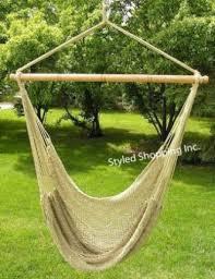 hammock swing chair as patio furniture exist decor