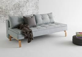 dual full size armless pillow top sofa bed by innovation living