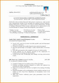 best contract accountant resume gallery sample resumes u0026 sample