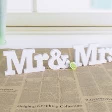 aliexpress com buy sell mr u0026 mrs signs mr u0026 mrs letters for