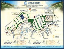 Cities In Florida Map by Dunes Of Panama Property Map Property Map For Condos
