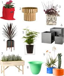 get the look 20 modern outdoor planters stylecarrot