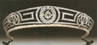 Greek Motifs The Royal Order Of Sartorial Splendor Tiara Thursday The Meander