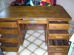 bureau bois massif occasion bureau bois ancien bureaux bois massif bureau ministre spaccial