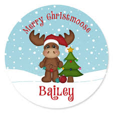 personalize plate christmas moose personalized christmas plate personalized