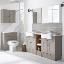 Bathrooms Furniture Burford Mocha Fitted Bathroom Furniture Roper