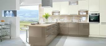 cuisine de qualité cuisine hacker gris basalte brillant et blanc brillant photo 14 20