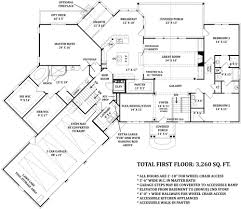 Second Story Floor Plans Cottage House Plan With 3 Bedrooms And 2 5 Baths Plan 4673