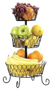 fruit basket stand fruit wire basket wire fruit basket with banana holder sgmun club