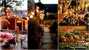 Backyard String Lighting Ideas Outdoor Outdoor Lighting Ideas Pinterest How To Hang String