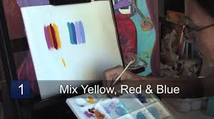 how to make the color brown with paint youtube