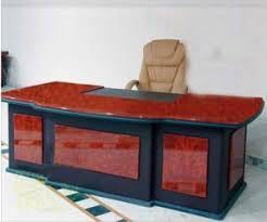 Designer Wooden Office Table In New Area Jalandhar Manufacturer - Designer office table