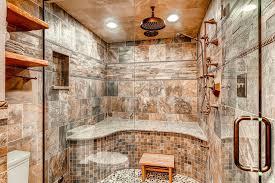 Rustic Bathroom Remodel Ideas - bathroom 2017 feature wall bathroom contemporary pebble tile