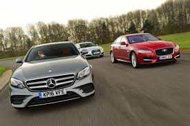 lexus es vs audi a6 mercedes e class vs jaguar xf vs audi a6 auto express