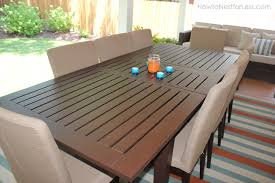 Pottery Barn Patio Table Backyard Porch Makeover How To Nest For Less