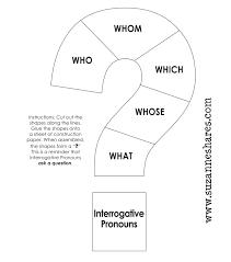 demonstrative u0026 interrogative pronouns u2013free printable suzanne shares