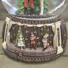 snow globe l post nutcracker christmas musical snow globe no 55047 barretts of