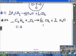 balancing equations worksheet youtube