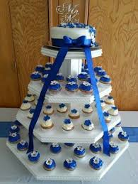 Cupcake Wedding Cake Wedding Cupcakes Cupcake Wedding Cakes Love This Idea With The