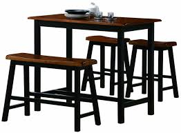 glass counter height table sets traditional counter height dining table 4 piece with 2 chairs 1